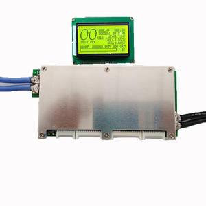 10s ~ 24s smart bms lifepo4 bms 70A 100A 200A 300A LITHIUM LTO bluetooth bms met LCD sandroid bluetooth app smart bm