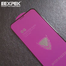 EEXPEK OG factory New arrival Golden Armor tempered glass for Samsung A9 2018/A8S/A90/A80 Fully covered protective film