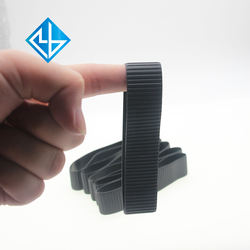 Customized camera focus changing stripe rubber protection ring camera accessories
