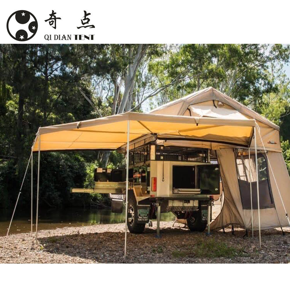 4x4/4wd/offroad waterproof Side fox awning/roof top tent/camping tent