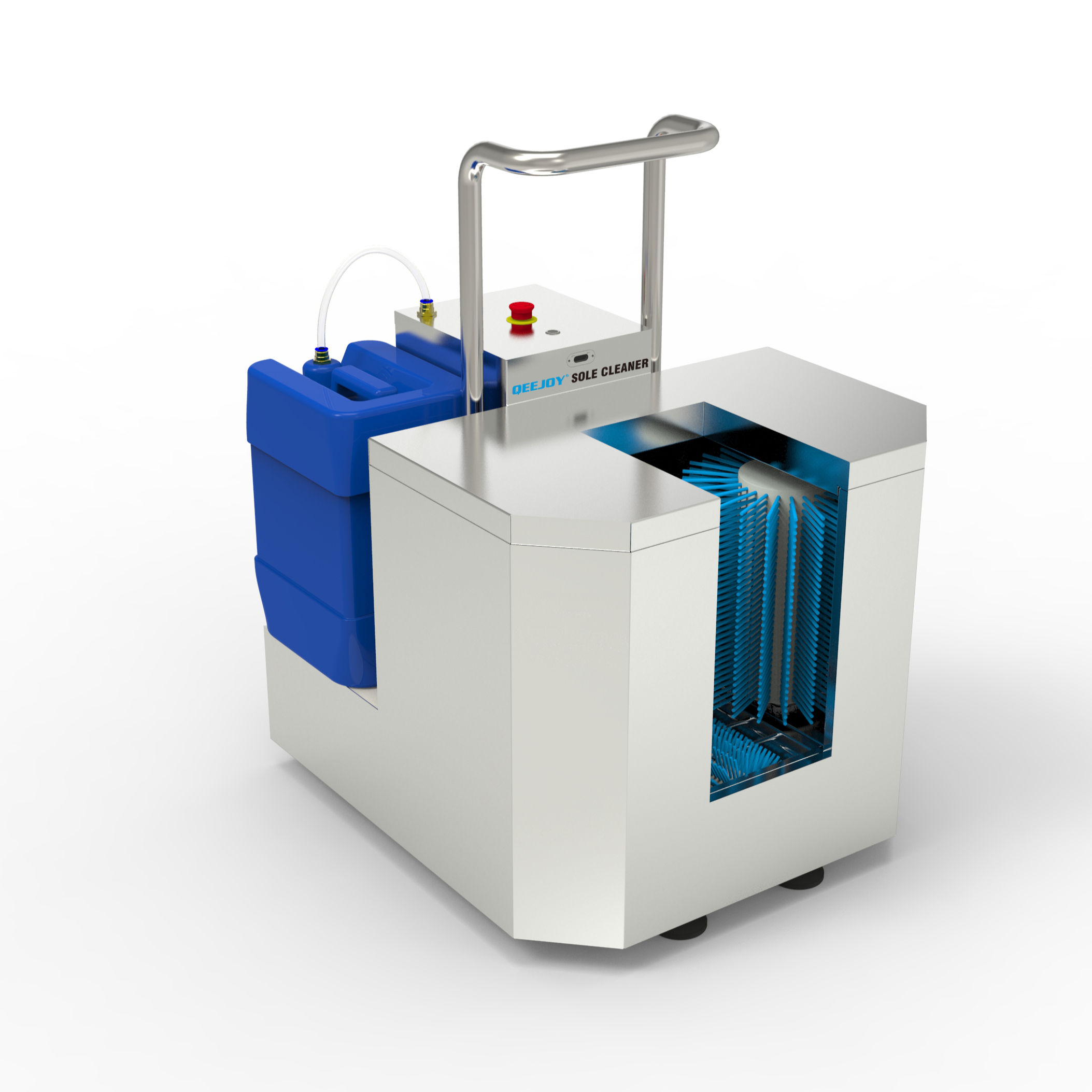 Boots Cleaning Station With Sterilizer Effect