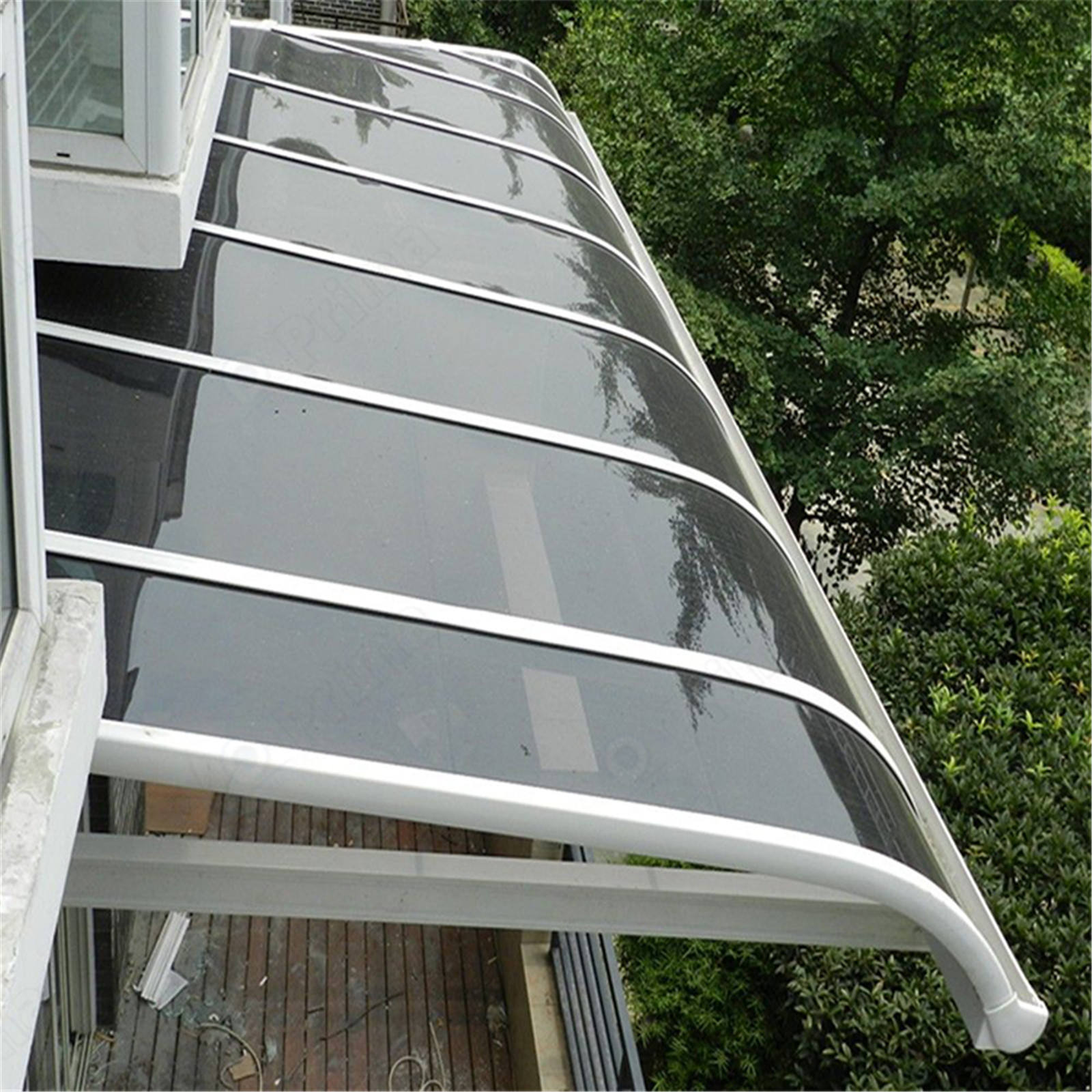 Outdoor Glass Conservatory Aluminum Roof Electric Pergola Retractable Awning Canopy
