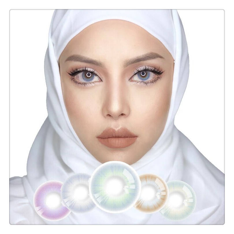 Amazon Realcon Wholesale price Super Natural Color Contact Lens Eye Contacts Factory color contact lenses