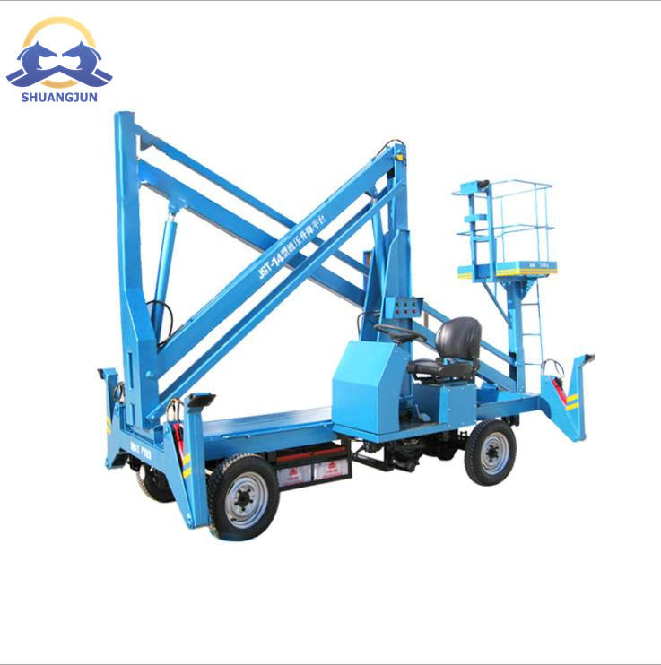 Articulated Manlift Self Propelled Work Platform Table Hydraulic Boom Lift Factory Scissor Lift