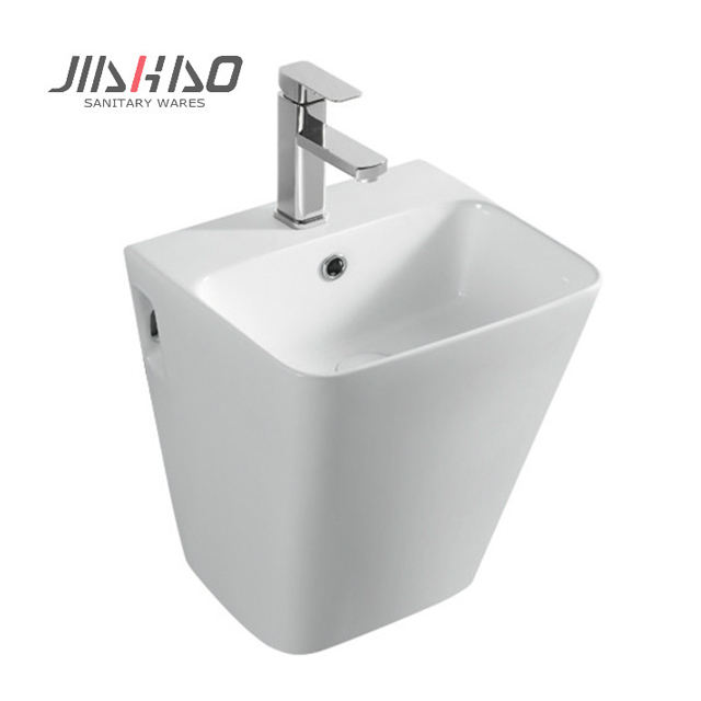 5800D New modern sanitary toilets basin supplier ceramic wall hung basin for bathroom