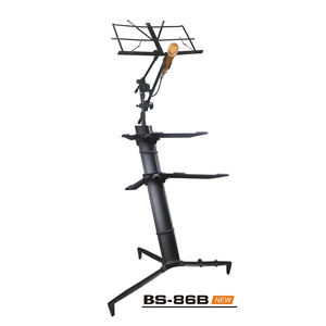 Professional factory good quality music stand chinese glockenspiel with mic stands