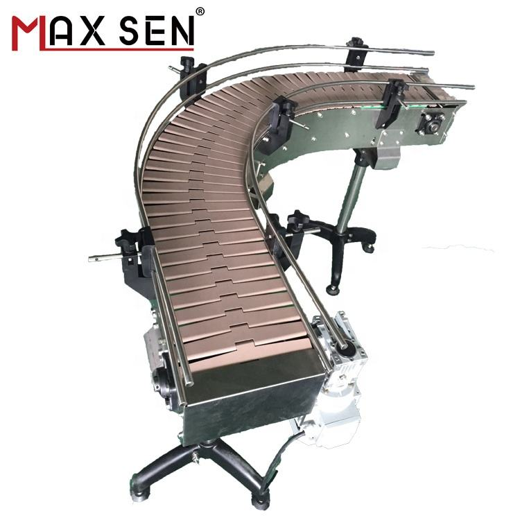 Customized Stainless steel Top Chain Conveyor System with ISO9001:2008