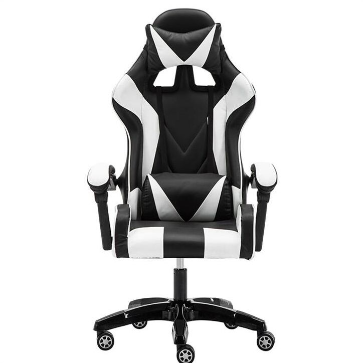 Computer Desk Chair Racing Style Office Ergonomic Style Swivel Gaming Chairs