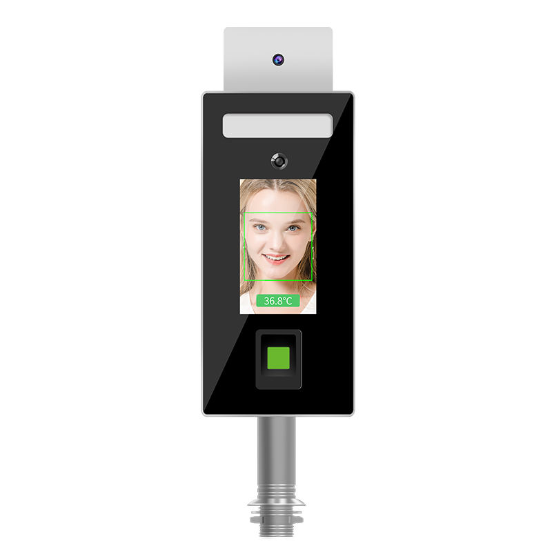 Eseye Time Attendance Door Open / Lock Wiegand Access Control Wall Mounted Temperature WIFI Face Recognition