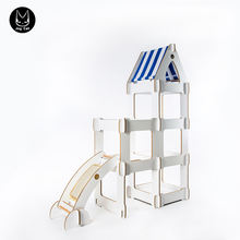 Triangular cat house Sisal Castle Cat Tree Pet toy wood tower