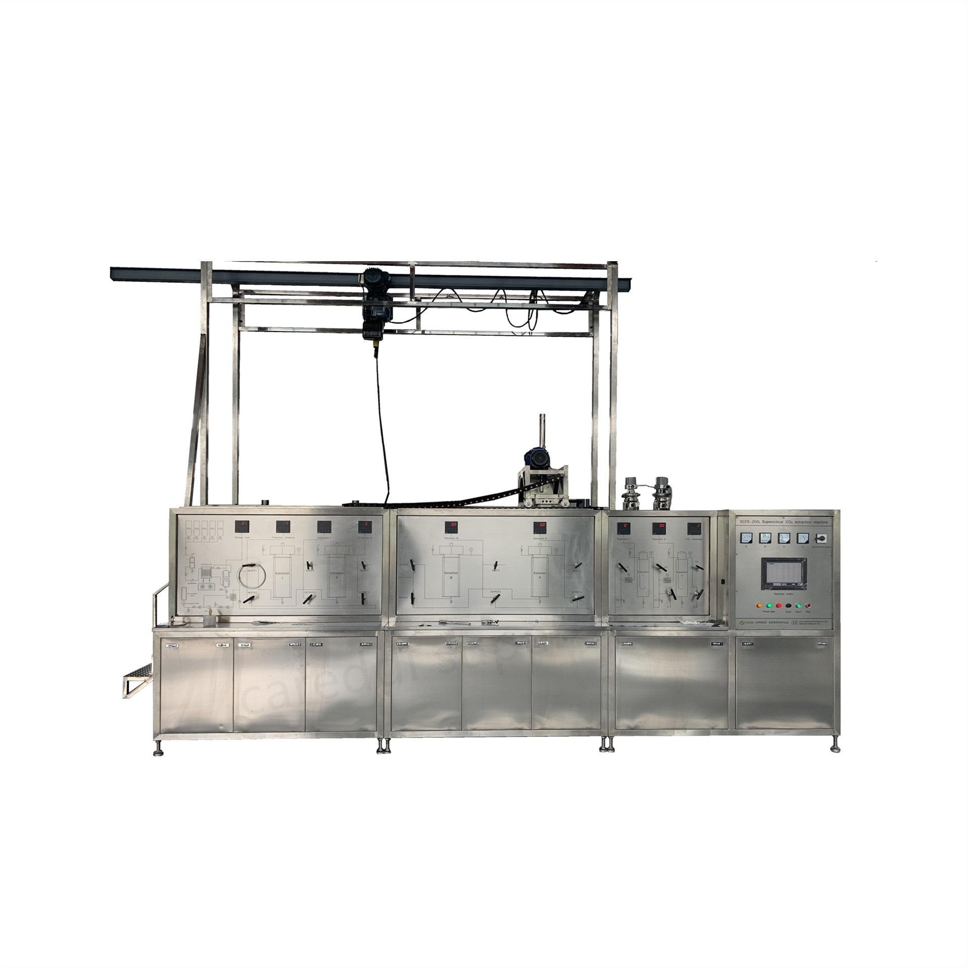 factory price hemp supercritical co2 oil extraction machine