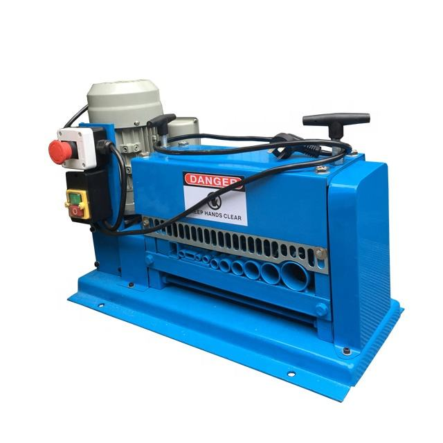 2019 BSGH manufacture Electric copper wire stripping machine automatic cable stripper equipment copper cable peeling machine