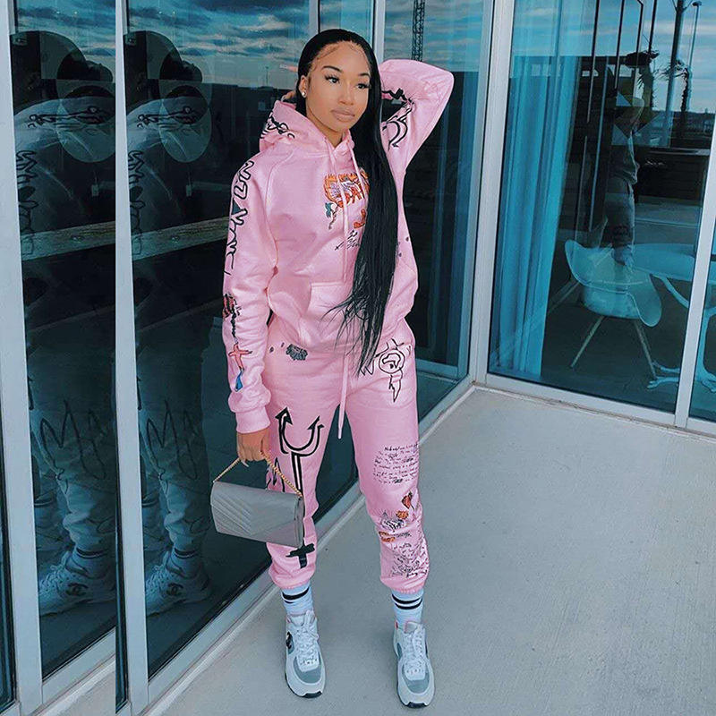 IN stock 2020 new arrivals color stacked jumpsuit pants legging women two 2 Piece sweat stacked pants set with ruched side