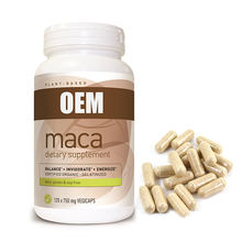 OEM/ODM Free sample black maca extract capsule for man long time sex