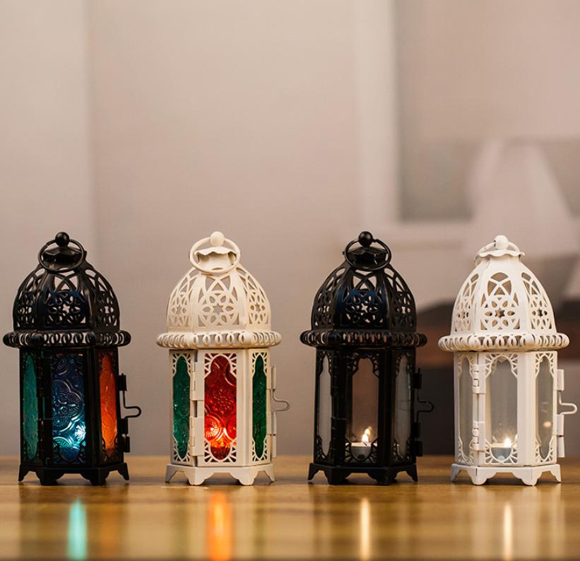 european candle holder home decor cheap metal moroccan turkish lantern