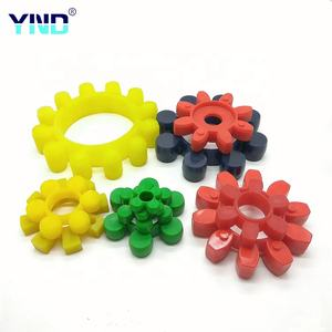 Elastic spider polyurethane part of rubber spider coupling