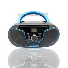 Portable LCD Display Top loading CD Player Compatible With CD/CD-R/CD-RW AM FM PLL Radio CD Boombox