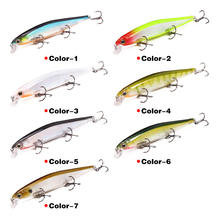 11cm 12.9g Bionic hard plastic fishing flight sinking minnow lure for long casting