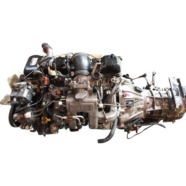 Japanese TOYOTAI 1RZ 2RZ Used Gasoline Engine With Transmission For Hiace Van
