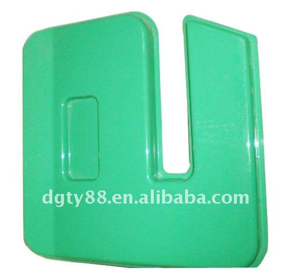 Vacuum formed plastic thick blister medical instrument cover