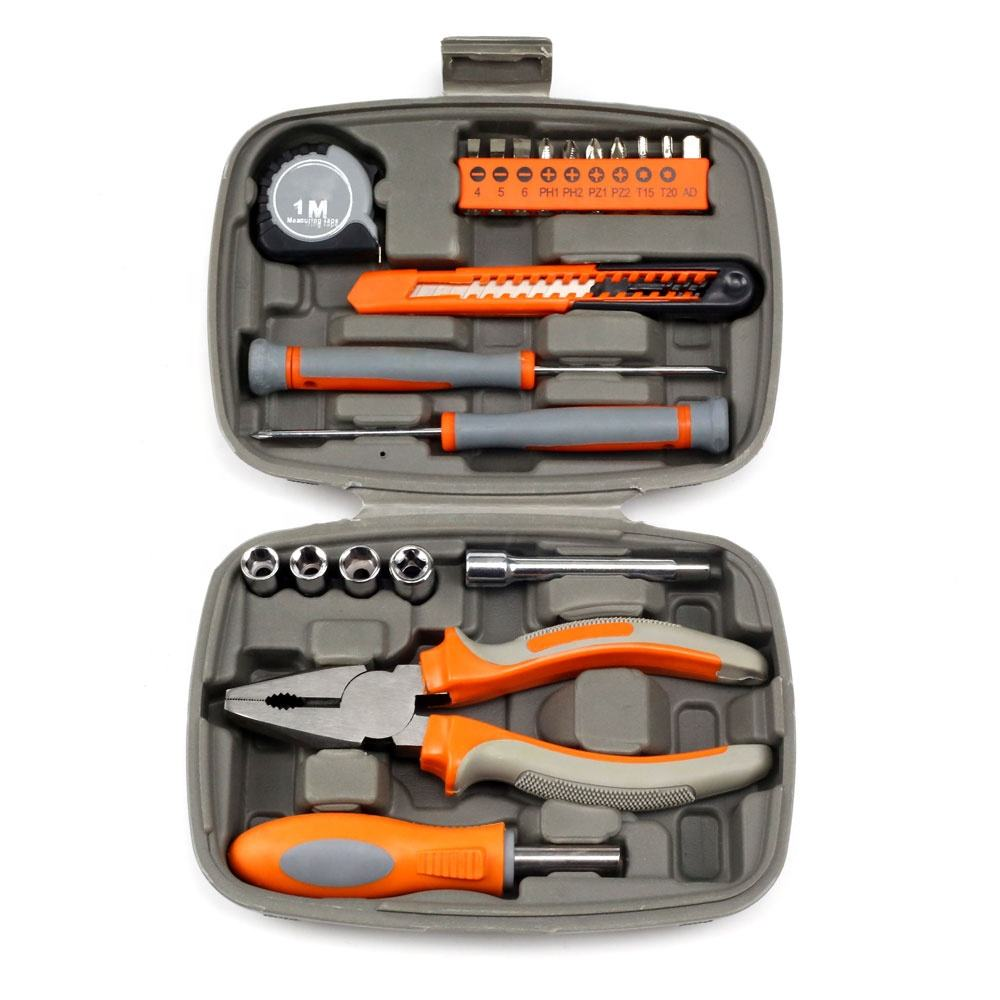 21pcs mini household tools kit with screwdriver and sockets