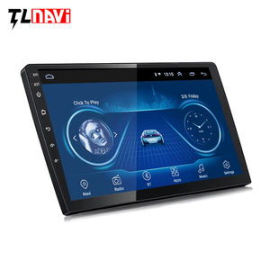 Sentuh Penuh 9 Inch 10 Inch Multimedia Player Android 10 Mobil GPS Universal Navigasi Head Unit