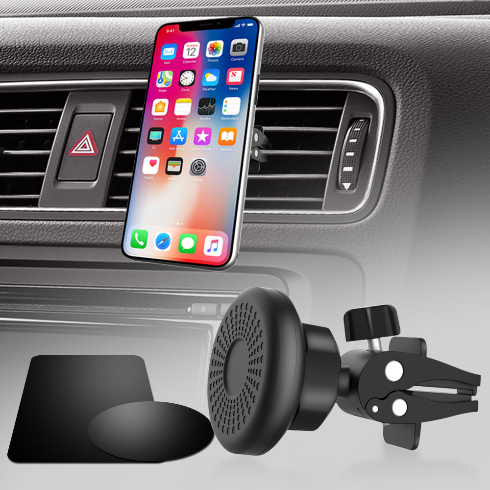 Universal Stronger Magnetic Air Vent Magnetic Car Mount 360 Degree Rotation Durable Mobile Holder Phone Stand