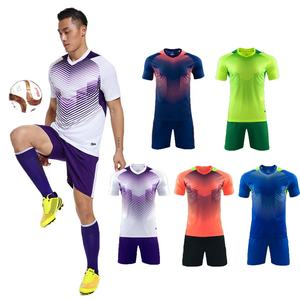 2019 KCOA Ready to Ship Full Set Cheap Price Blank Club Soccer Uniform