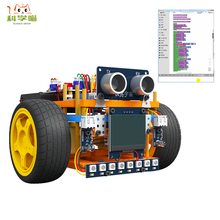 Graphical Programming Stem Robot Diy Toy Kit For Kids