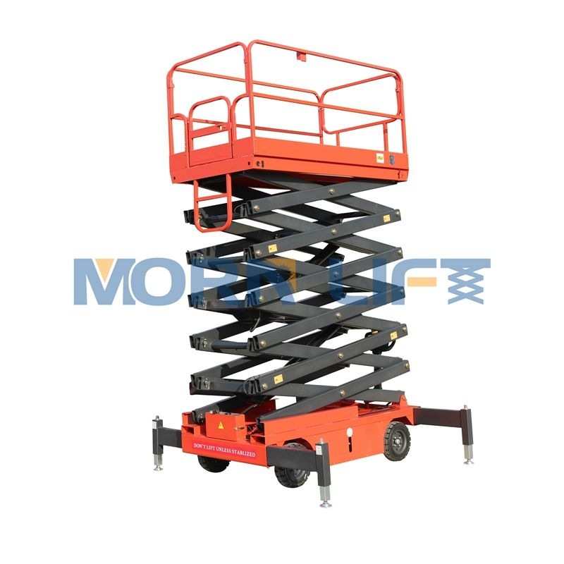 Hydraulic mobile scissor lift Lift Tables lifting equipment safety work platform