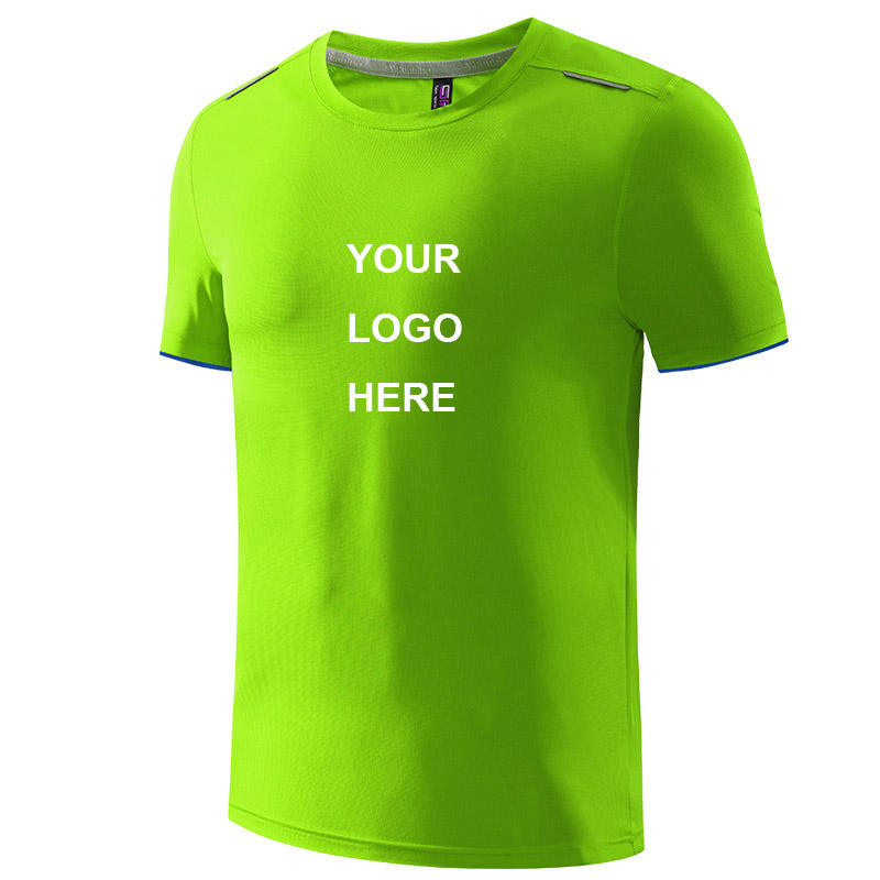 wholesale running wear seamless badminton shirt sublimation t shirts blank sports tshirt