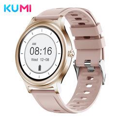 2021 New KUMI K16 Fashion Smartwatch Ladies Wristwatches 2021 Luxury Classical and Elegant Wrist Watches
