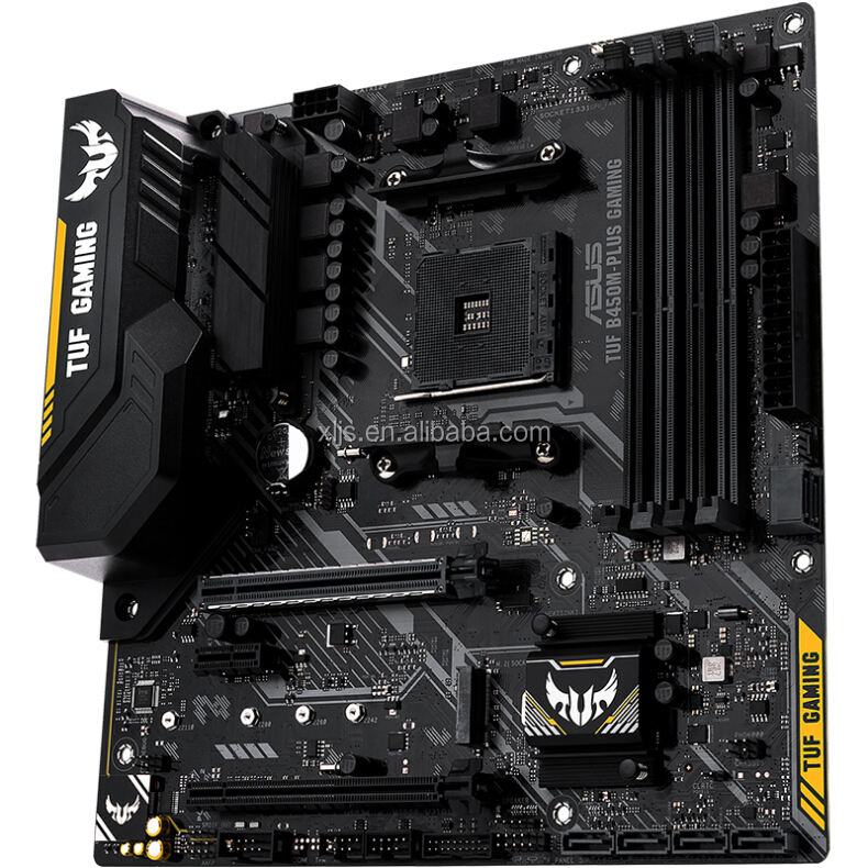 TUF B450M-PLUS GAMING Computer <span class=keywords><strong>Motherboard</strong></span> AMD AM4
