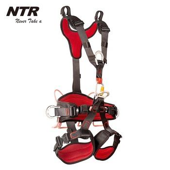Rope access harness climbing full body safety harness