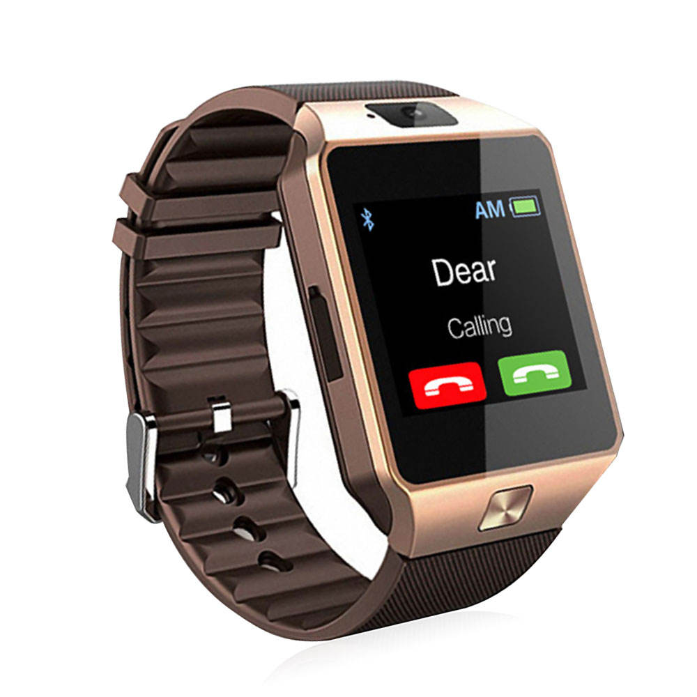 Custom High Quality Dz09 Waterproof Sport Business Watch Elegant Couple Android Phone call Smartwatch