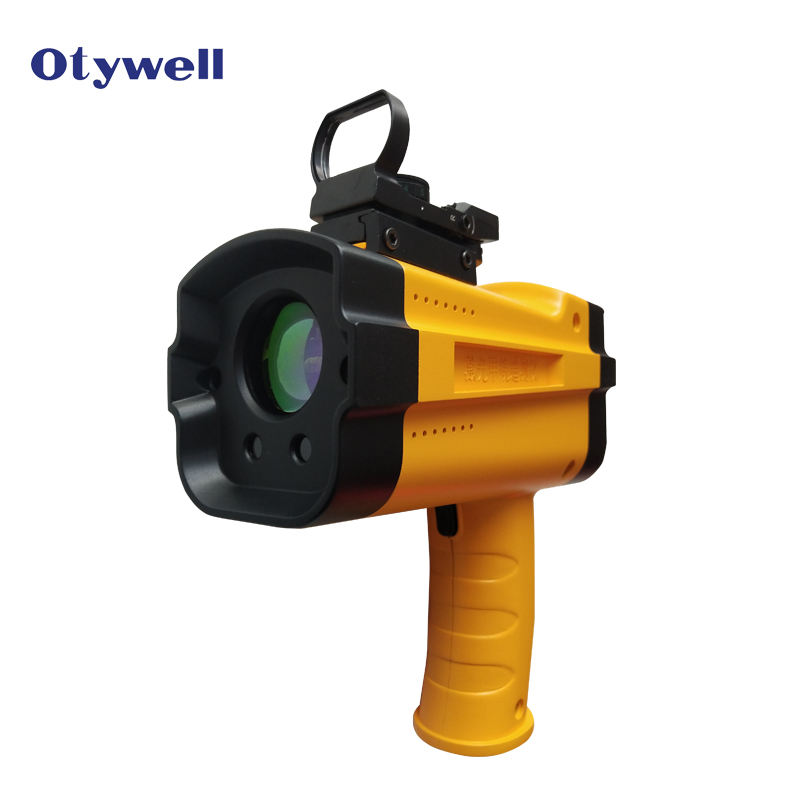 Remote Natural Gas Leak Detection instrument handheld