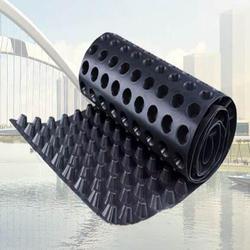 Wholesale composite drainage board building HDPE waterproof and drainage board plastic drainage board