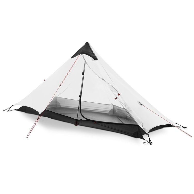 Qianwei Ultralight 1 Person Camping Trekking Pole Tent Single Tent