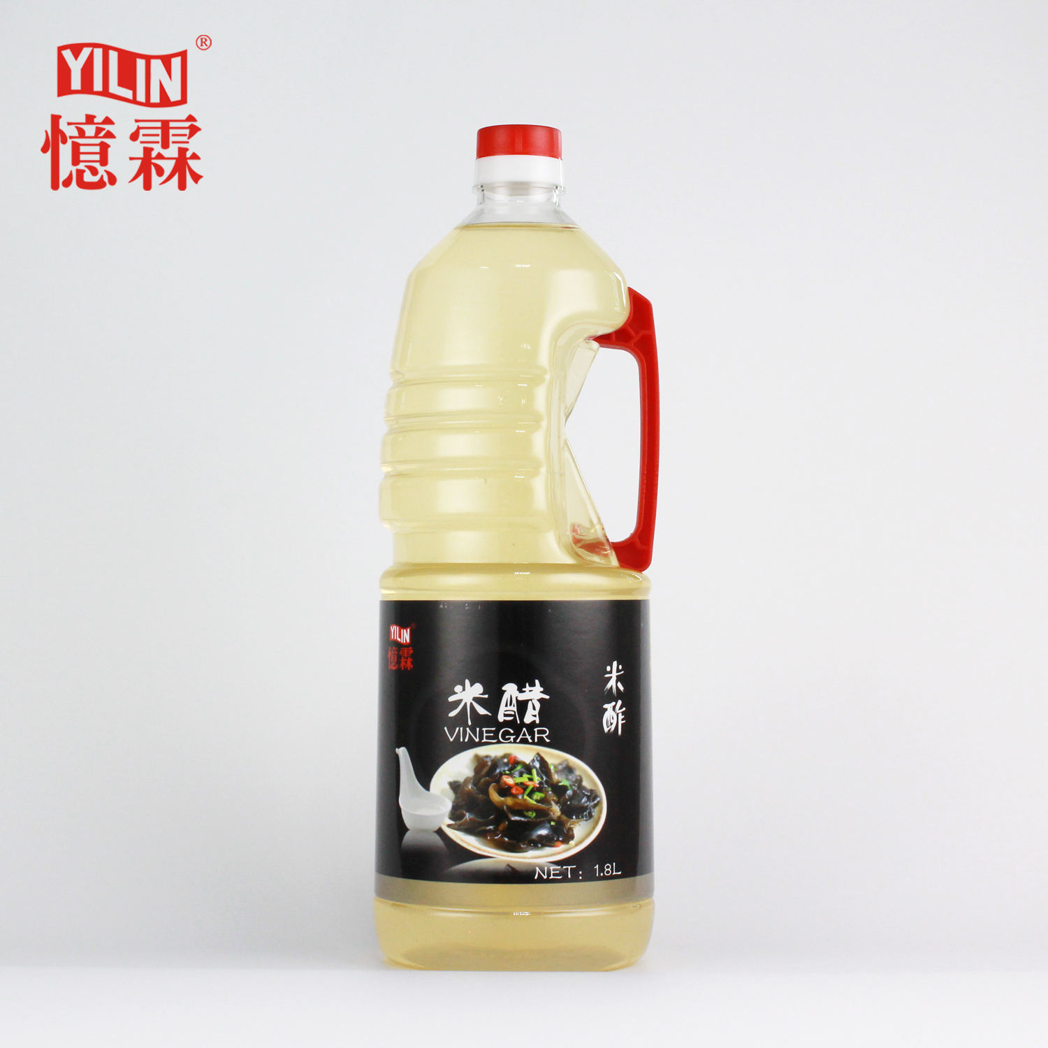 1.8L high quality natural fermented white rice vinegar