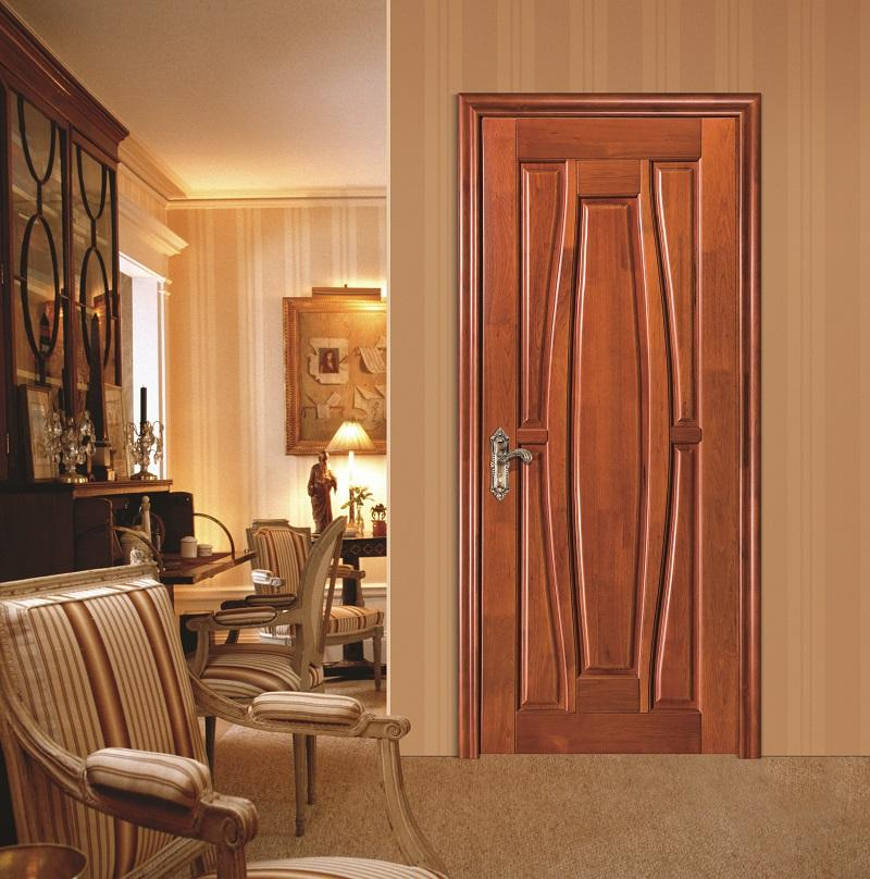 Imported wooden interior door from China