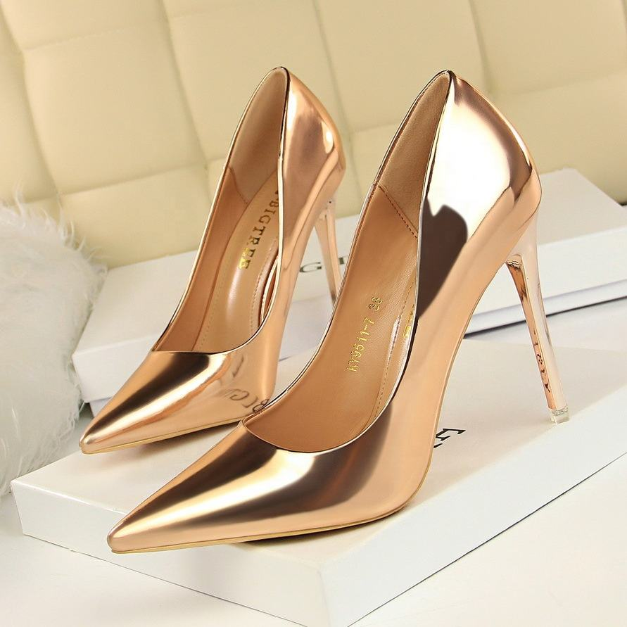 High Heels Sexy Wedding Shoes Women Pumps Stiletto Sexy Party Shoes Female Heels Ladies Shoes