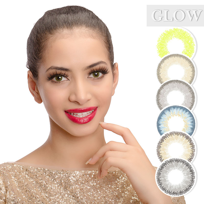 Cosmetic Lens Soft Color Contact Lens Yearly Contact Lens Natural Color New Fashion Contact Lenses
