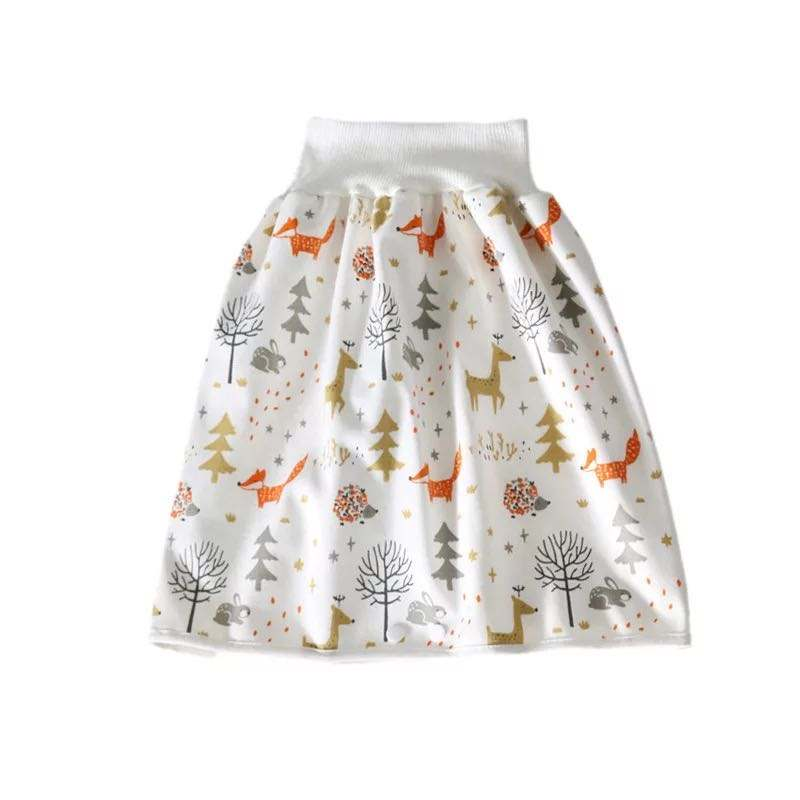 Chiffon short custom Training Cloth Diaper Skirts for Baby Night Time Sleeping Bed for Potty Training W3999