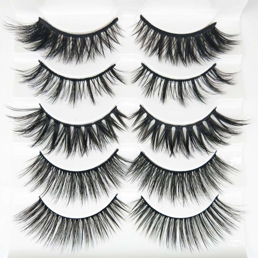 5 paris The Best Long Thick Eyelashes With Wholesale Cheap Price