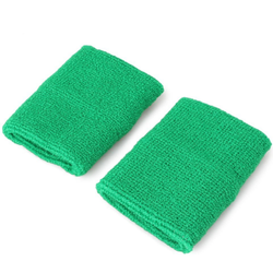 Cotton and polyester Colorful towel wrist supports band sports protector wrist pad