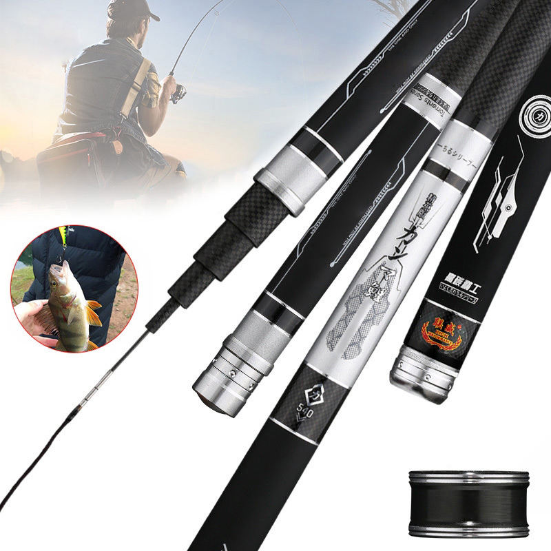Factory wholesale lowest price fishing rod super hard carbon fishing rod adjustable length long shot rod