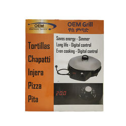 OEM wass grill injera cooking appliance  electronics digital