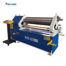 2019 hot sales CNC three rolls plate bending rolling machine
