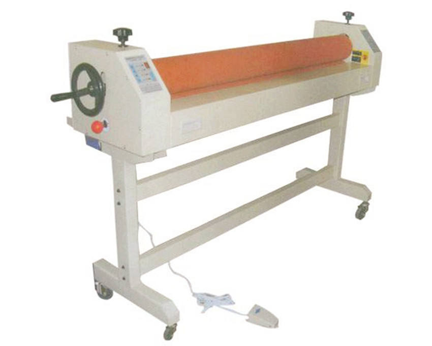 Electric cold single sided press roll laminator