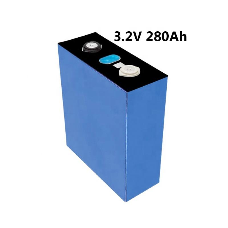 3.2V 280AH electric vehicles solar systems prismatic LiFePO4 lithium battery cell with full certification